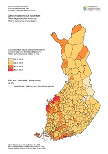 valdeltagandet_EUP_2009_kommuner