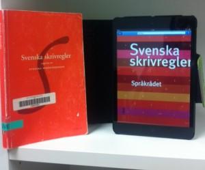 Svenska skrivregler toppar utlåningslistan på svenskspråkiga e-böcker