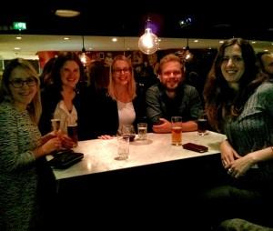 Doktoranderna som deltog var Greta Wistbacka, Annika Szabo Portela, Joakim Gustafsson och Susanna Whitling