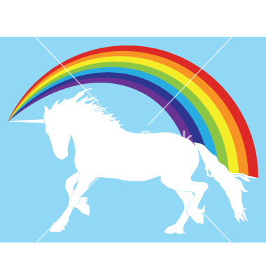 unicorn-with-rainbow-vector-40368