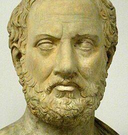 Kopia av byst föreställande Thukydides