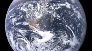 Jorden sett ur Apollo 17:s perspektiv.