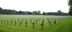 Begravningsplats i Holland efter andra världskriget