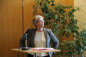 """""""Processer gör livet så hemskt mycket enklare"""", var ÅA:s styrelseordförande Marianne Stenius paroll under sin presentation."""