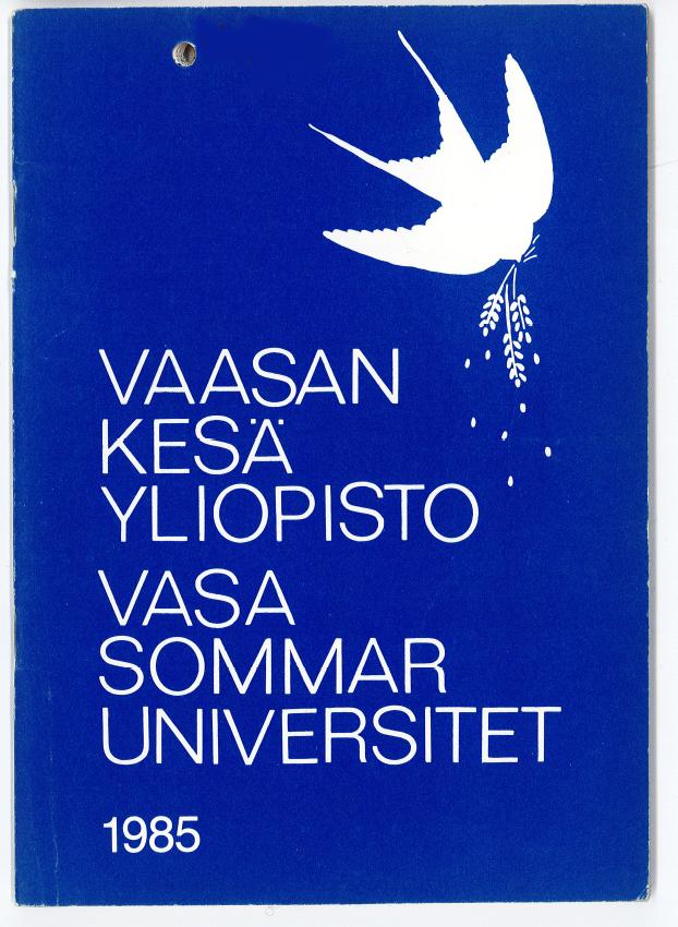 1f285b834b1a Öppna universitetet vid Åbo Akademi har samarbete med Vasa och Hangö  sommaruniversitet samt med Öppna högskolan på Åland