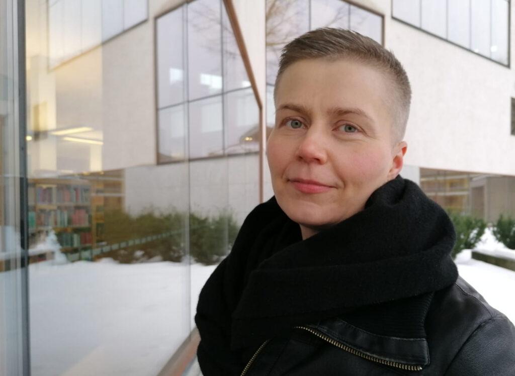 Portsättbild på Fanny Neittaanmäki.