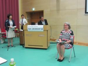 presentation av professor Noda