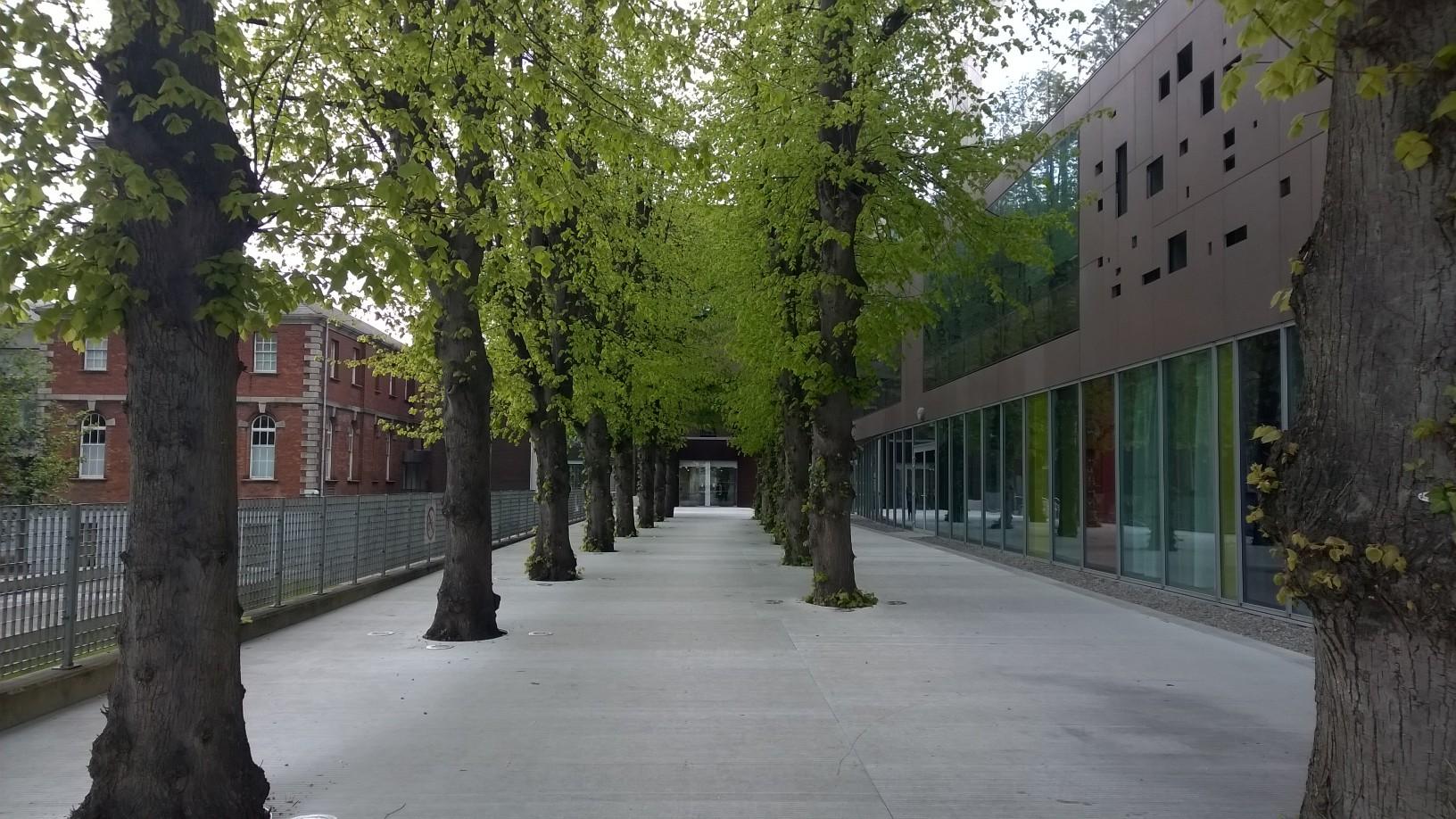 På bilden syns St Patrick's Campus, Dublin City University.