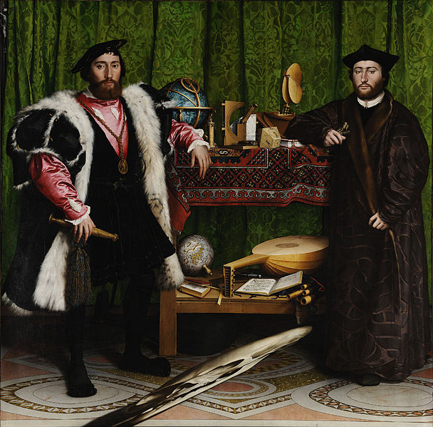 Hans Holbein d.y., Ambassadörerna, 1533