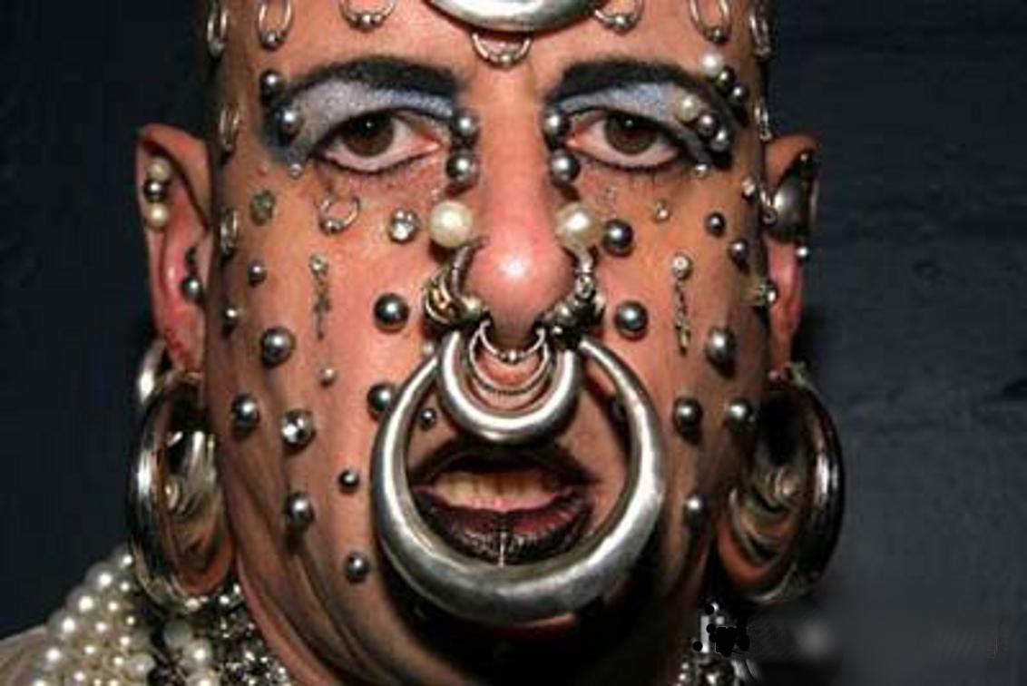Bilderesultat for extreme piercing